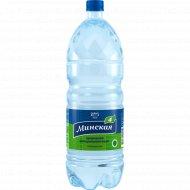 Вода минеральная «Минская-4» газированная, 2 л.