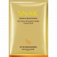 Маска для лица «BioAqua» Snail Prime, 25 г.
