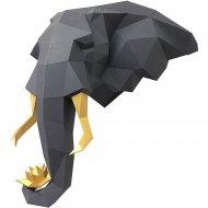 Набор для творчества «Голова трофейная» слон и лотос, графитовый