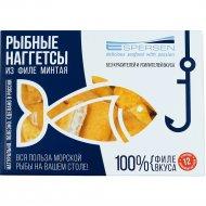Рыбные наггетсы из филе минтая в кляре, 232 г.