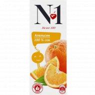 Сок «№1» апельсин, 0.2 л.