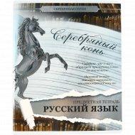 Тетрадь предметная «Русский язык» линейка, 48 листов.