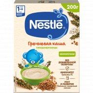 Каша гречневая безмолочная «Nestle» гипоаллергенная 200 г.