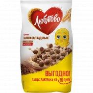 Готовые завтраки «Любятово» шоколадные шарики, 500 г.