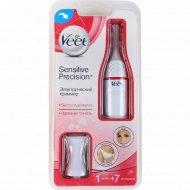Электрический триммер «Veet» для чувствительных участков тела.