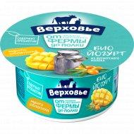 Биойогурт «Верховье» с манго и облепихой, 2.9%, 150 г.