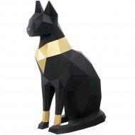 Набор для творчества 3D «Фигура» кошка Бастет, черный