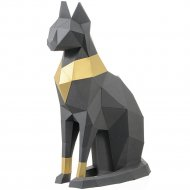 Набор для творчества 3D «Фигура» кошка Бастет, графитовый