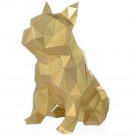 Набор для творчества 3D «Фигура» бульдог Жульен, золотой