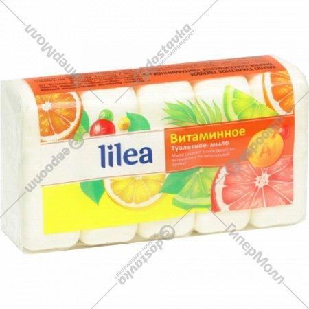 Туалетное мыло «Lilea» витаминное, 300 г.