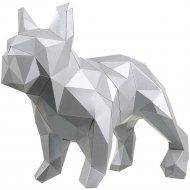 Набор для творчества 3D «Фигура» бульдог Марсель, платина