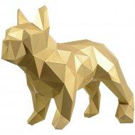 Набор для творчества 3D «Фигура» бульдог Марсель, золотой