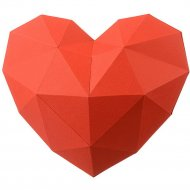 Набор для творчества3D «Фигура» сердце, красный