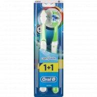 Зубная щетка «Оral-b» сomplete, 1+1.