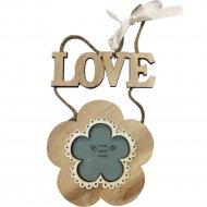 Рамка для фото декоративная «Цветочек» 6.5х6.5 см.