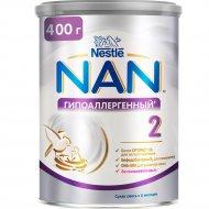 Смесь сухая «Nestle» NAN 2, гипоаллергенная, с 6 месяцев, 400 г
