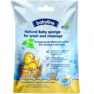 Губка натуральная детская «Babyline»