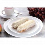 Пирожное «Эклер» кокосовый, 80  г.