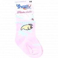 Носки с узором для девочки.