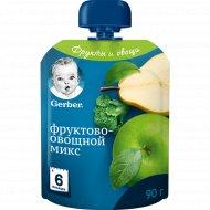 Пюре «Gerber» фруктово-овощной микс 90 г.