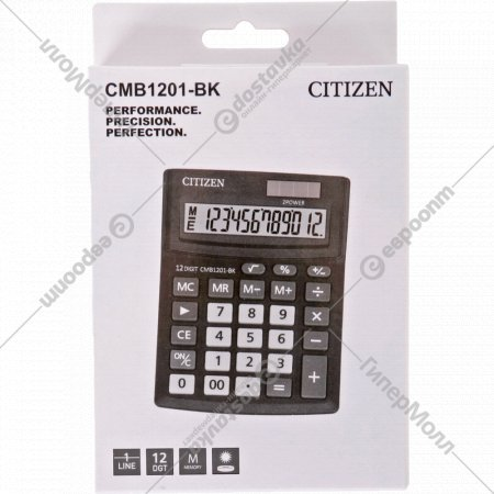 Калькулятор «Citizen» CMB-1201 BK.