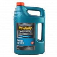 Моторное масло «Texaco» Havoline Energy SAE, 5 л.