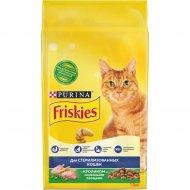 Корм для стерилизованных кошек «Friskies» кролик и овощи, 1,5 кг.