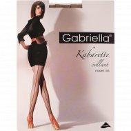 Колготки женские «Gabriella» Kabarette Exclusive, 155, размер 2, бежевый