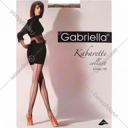 Колготки женские «Kabarette Exclusive» 155, размер 1/2, бежевый.