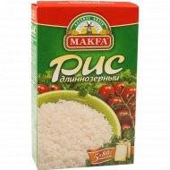 Рис длиннозерный «Makfa» в специальных пакетиках для варки 400 г.