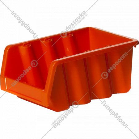 Лоток для метизов серо-свинцовый, 16х11.5х7.5 см.
