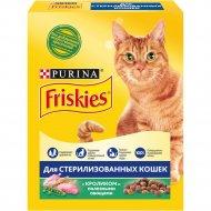 Корм для стерилизованных кошек «Friskies» кролик и овощи, 300 г