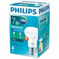Лампа «Philips» LED 7-70W E27 6500K 230V R63.