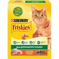 Корм для кошек «Friskies» курица и садовая зелень, 300 г.