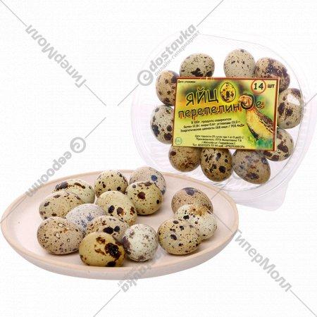 Яйцо перепелиное, фасованное, 14 шт.