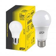 Лампа светодиодная «ETP» A60 12W E27 3000K.