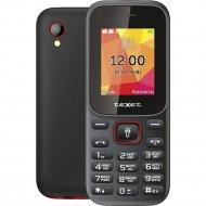 Мобильный телефон «Texet» TM-124 красный.
