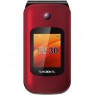 Мобильный телефон «Texet» TM-B202 красный.