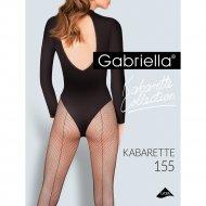 Колготки женские «Kabarette Exclusive» 155, размер 1/2, черный