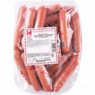 Сосиски вареные «Студенческие» высшего сорта, 1 кг, фасовка 0.3-0.4 кг