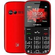 Мобильный телефон «Texet» TM-B227 красный.