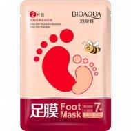 Медовая маска «BioAqua» для ног, 35г.