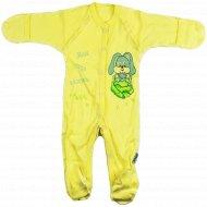 Комбинезон детский КЛ.310.009.0.139.005, желтый.