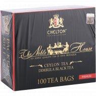 Чай черный «Chelton»Nobel House Black, 100 пакетиков.