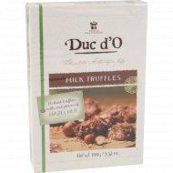 Бельгийские трюфели «Duc d'O« молочный шоколад с лесным орехом 100 г.