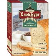 Смесь мучная «ХлебБург» хлеб пшеничный Норвежский, 450 г.