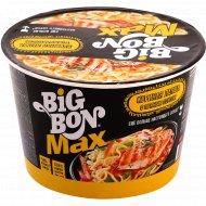 Лапша «Big Bon» MAX соус с курицей, 95 г.