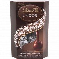 Конфеты «Lindor» из горького шоколада с нежной начинкой 200 г.