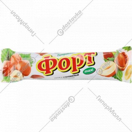 Конфеты глазированные «Петровский форт» нуга, карамель и орехи, 50 г.