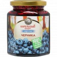 Варенье из черники «Карельский продукт» Домашнее, 320 г.